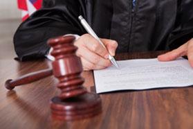 Filing & court