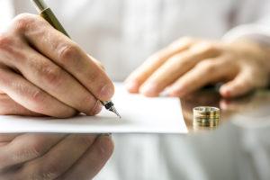 filing a divorce