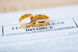 divorce paper